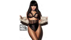 Nicki Minaj on white by marcosllm50