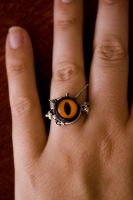 - Evil Eye Ring - 2 - by IskaDesign