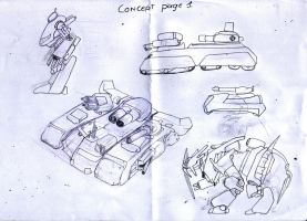 Concept of vehicles by madcomm