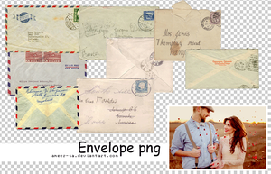 8 Envelope png by AmEeR-Sa