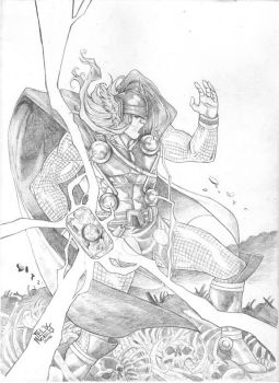 The Mighty Thor by felixicarusmorales