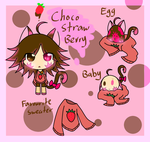 Adoption: Choco strawberry cat ( closed ) by JLrrblover