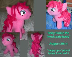 Baby Pinkie Pie FOR SALE by LilWolfStudios