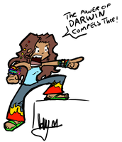 The power of DARWIN by angelblood