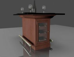 Kitchen Island Concept by RocketFan