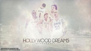 Los Angeles Lakers Hollywood by assasinsilent