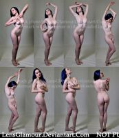 8 Standing Nude Poses Premium Content Comm Use OK by MordsithCara