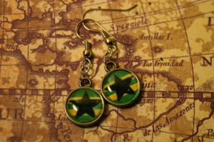 Browncoat Earrings by MyrHansen