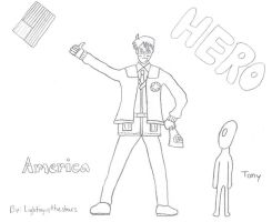APH America No Color by LightingUpTheStars