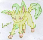 Leafeon by Lumiiose-Dreams