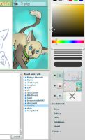 Cat Iscribble by Flanngo