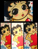 Betty Boop Birthday Card by ChibiCelina