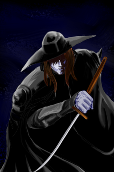 Vampire hunter D by cutmasterhaze