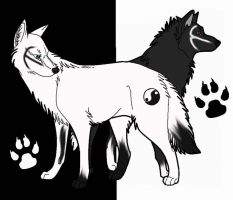 Lovely Yin and Yang by WyldWerewolf