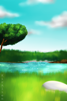 Background Practice by KirCorn