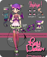 Rosy Demon [ Auction : closed ] by Shotze