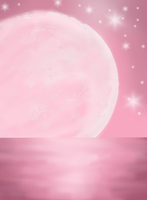Pink Moon by SolarMiko