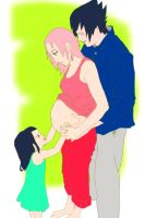 Uchiha family - Request by BabyNaruHina
