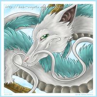 Haku the dragon by HasegawaVega