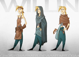 NML - Willin Costumes by ghostcharmer