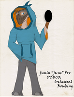 PCBC3: June Fox by Dongiovar