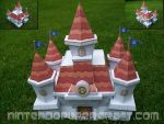 Peach's castle papercraft by Gipi2009