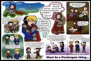 Merlin Miscellany SPOILERS by blackbirdrose