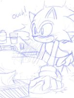 Medication time (sketch preview) by AngelofHapiness