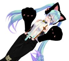 MMD Append MIKU CAT by TOUKO-P