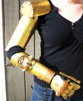 Steampunk Arm WIP by salvagedsword