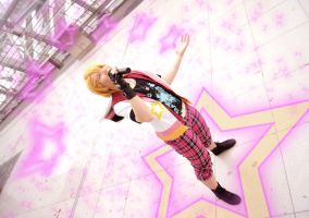 Pink star (Utapri Cosplay) by Stray-Cat-Yoru