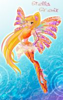 Winx club Stella Sirenix by fantazyme