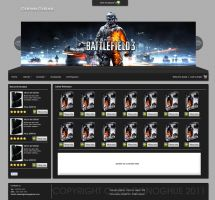 Games Galore Website template by miniarma