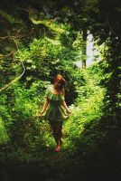 Forest Girl by druminvibezz