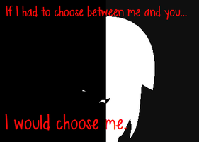If I had to choose... by ChickenNuggetGalaxy