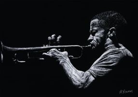 Contemporary Jazz Trumpeter by ryoung