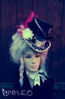 Midnight Forest Masquerade Hat by apatico