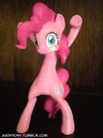 Custom 3D-printed Pinkie Pie [COMMISSIONS OPEN] by Clawed-Nyasu