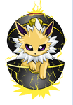 Jolteon by SaintBree