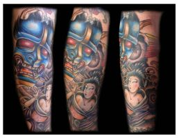 Fear the Hannya by Marthyself