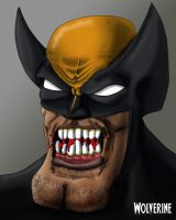Wolverine - 1 by Crow-Dreamer