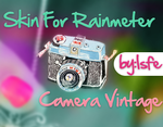 Skin For Rainmeter Camera Vintage by Isfe