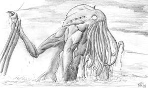 Great Cthulhu by 3shades