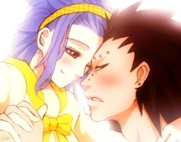gajeel x levy ( request ) by Esther-fan-world