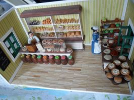 Bakery Roombox DONE by kayanah