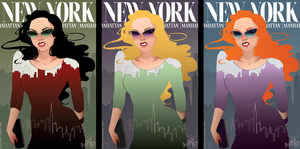 XOXO: NY by illustratorJI