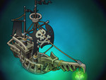 Flying Dutchman for Oasis: the last hope game by Pykodelbi