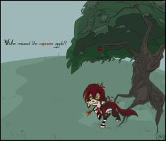 Who missed the crimson apple? by MasqueradeMaybe