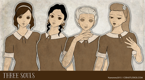 Three Souls - Character Sprites by Cera-L-Hendry