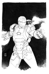 Iron Patriot Inked by Hodges-Art